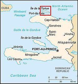 Cartina Geografica Haiti.Ile De La Tortue Geografia Scoperta Colonizzazione Francese Presenza Inglese
