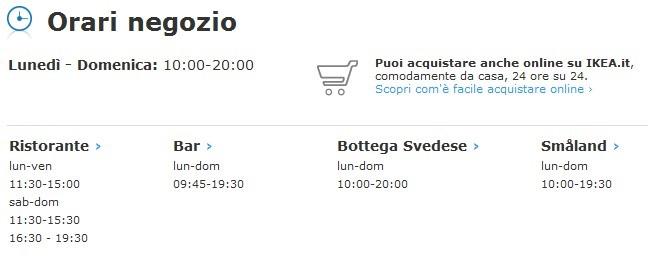 Ikea rimini telefono numero posizione orari my italia blog for Ikea orari rimini