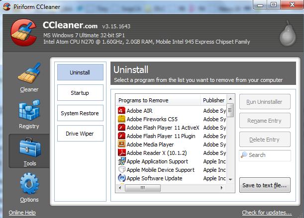 image Scaricare il programma per computer ccleaner gratuitamente